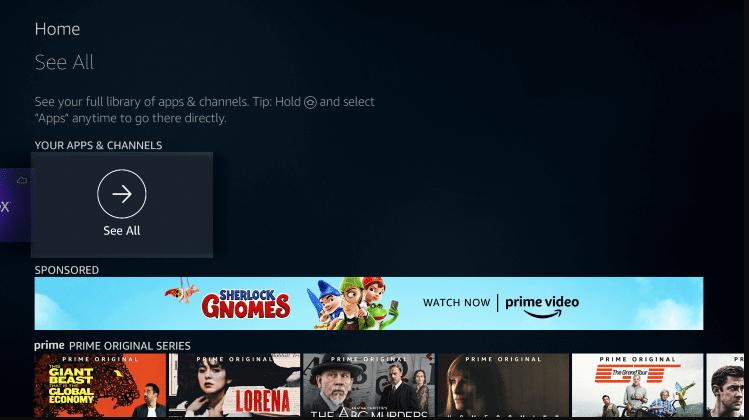 Install Vavoo TV APK on Firestick