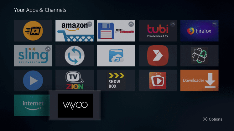 Install Vavoo TV App on Firestick