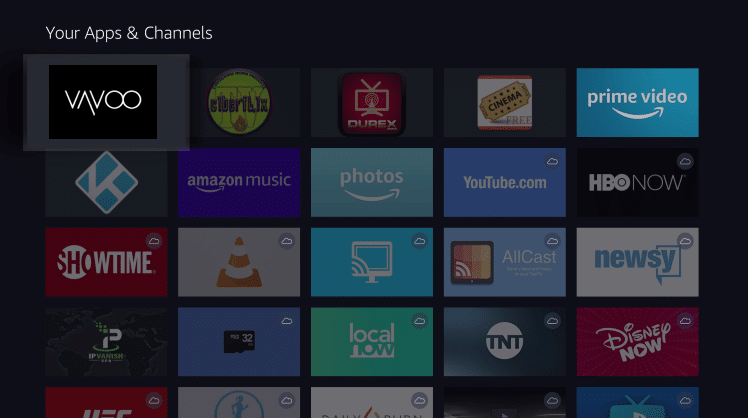 Install Vavoo TV App on Firestick